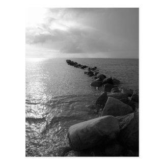 Cartão Postal Ilha de mar báltico Fehmarn
