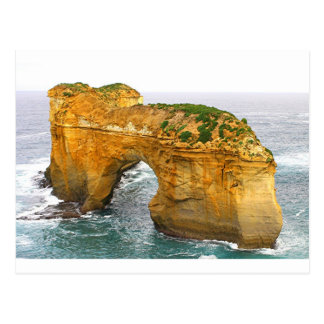 Cartão Postal Ilha de Muttonbird, costa do Shipwreck, Austrália