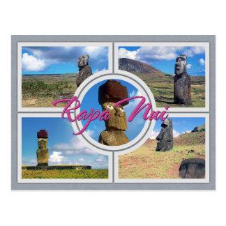 Cartão Postal Ilha de Páscoa (Rapa Nui)
