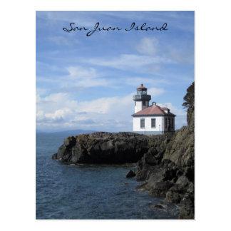 Cartão Postal Ilha de San Juan