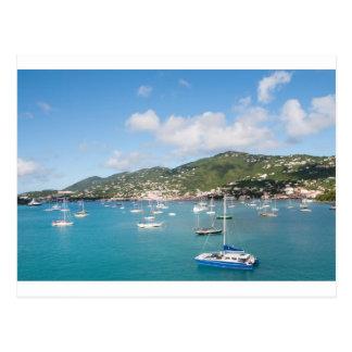 Cartão Postal Ilha de St Thomas