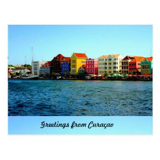 Cartão Postal Ilha do design de Curaçau por Admiro