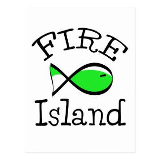 Cartão Postal Ilha do fogo
