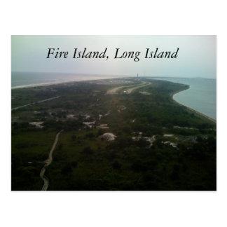 Cartão Postal Ilha do fogo, Long Island