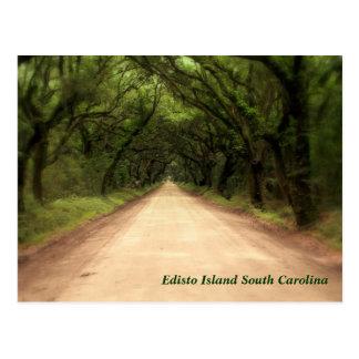 Cartão Postal Ilha South Carolina de Edisto - personalizado