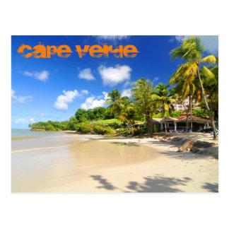 Cartão Postal Ilha tropical em Cabo Verde