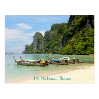 Cartão Postal Ilhas da phi da phi, Tailândia
