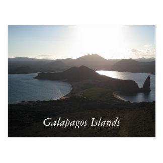Cartão Postal Ilhas Galápagos