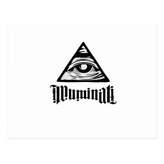 Cartão Postal Illuminati