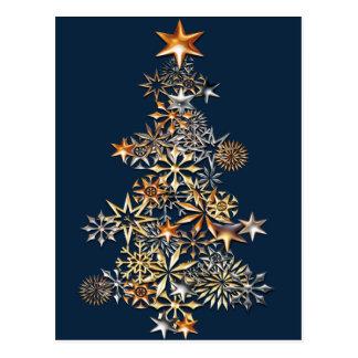 Cartão Postal Iluminando a árvore