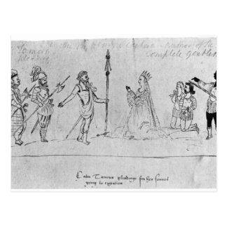 Cartão Postal Ilustração Andronicus, por William