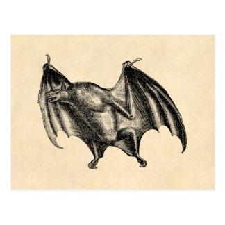 Cartão Postal Ilustração do bastão de vampiro dos 1800s do