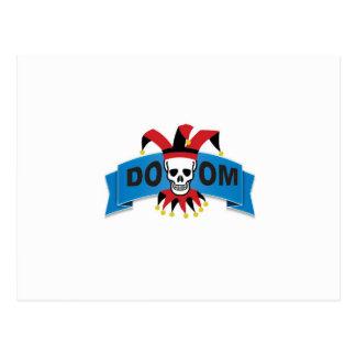 Cartão Postal imagem da morte da desgraça