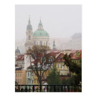 Cartão Postal Imagem de Praga