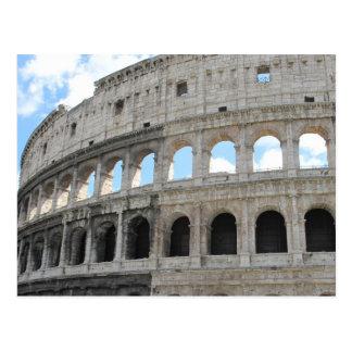 Cartão Postal Imagem do Colosseum - o Colosseo romanos