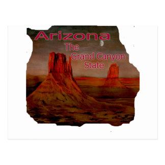 Cartão Postal Imagem do estado do Grand Canyon da arizona