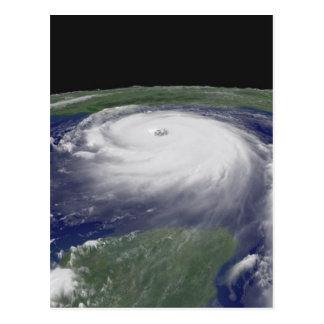 Cartão Postal Imagem do satélite de Katrina do furacão