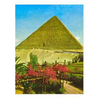 Cartão Postal Imagem do vintage da réplica, Egipto, grande