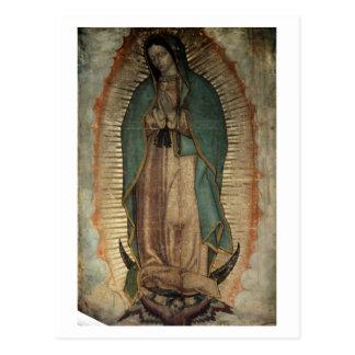 Cartão Postal Imagem original de nossa senhora de Guadalupe