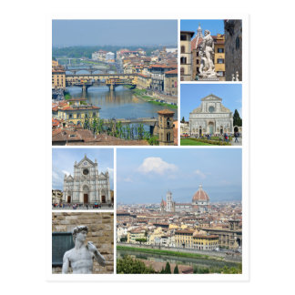 Cartão Postal Imagens de Florença