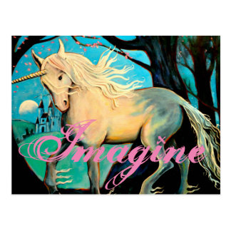 Cartão Postal Imagine