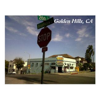 Cartão Postal IMG00545-20110602-1659, colinas douradas, CA