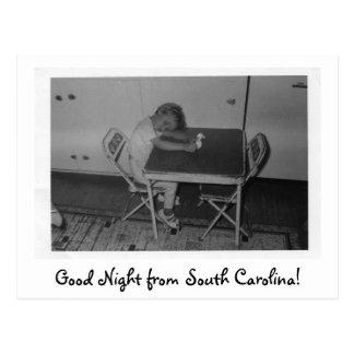 Cartão Postal img058, boa noite de South Carolina!