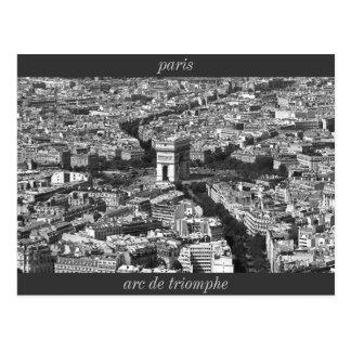 Cartão Postal IMG_2588_2, Arco do Triunfo, Paris