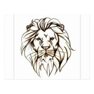Cartão Postal IMG_7779.PNG brave o design do leão
