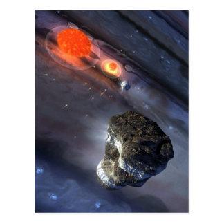 Cartão Postal Impacto de Jupiter