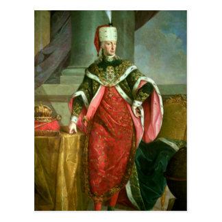 Cartão Postal Imperador Francis mim imperador romano santamente