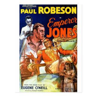 Cartão Postal Imperador Jones