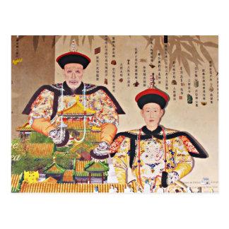 Cartão Postal Imperador Qianlong