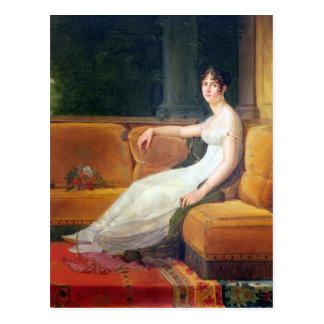 Cartão Postal Imperatriz Josephine em Malmaison, c.1801