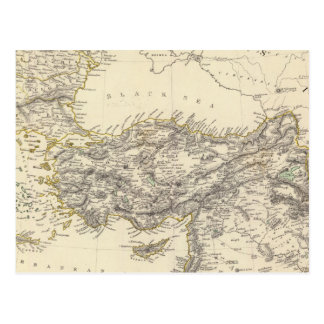 Cartão Postal Império turco, piscina