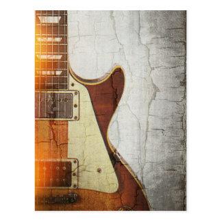 Cartão Postal Impressão 1 da guitarra - o solteiro cortou 59