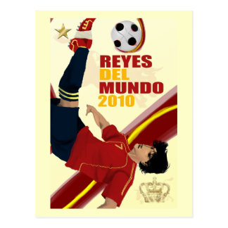 Cartão Postal Impressão de Reyes Del Mundo Poster em artigos do