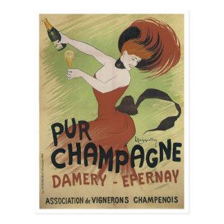 Cartão Postal Impressão do poster da arte do vintage do