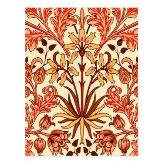 Cartão Postal Impressão, laranja e oxidação do jacinto de