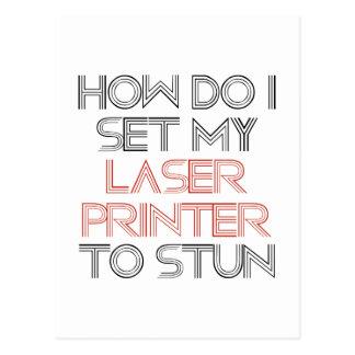 Cartão Postal Impressora a laser