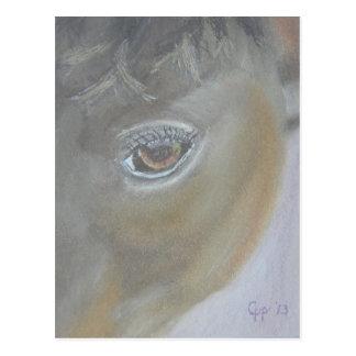 Cartão Postal Impulsione meu ego - pintura do cavalo