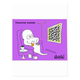 Cartão Postal Inactividade Paranormal