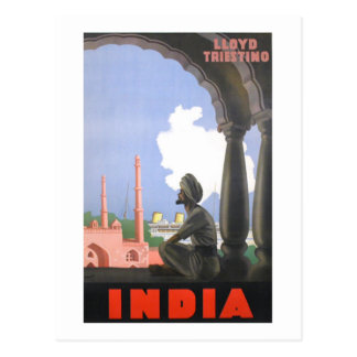 Cartão Postal India-1927