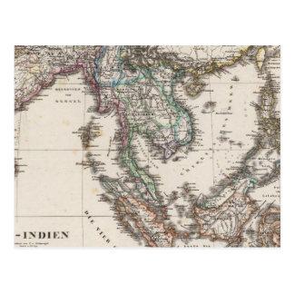 Cartão Postal India do leste