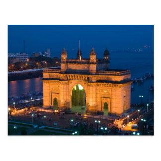 Cartão Postal INDIA, Mumbai (Bombaim): Entrada de India/