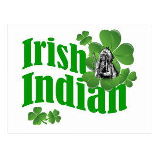 Cartão Postal Indiano irlandês