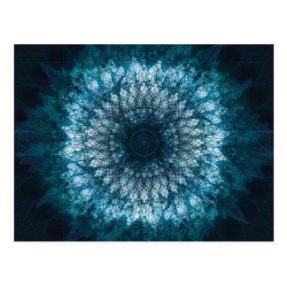 Cartão Postal Índigo Blue Mandala