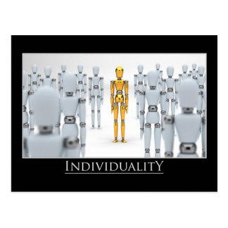Cartão Postal Individualidade