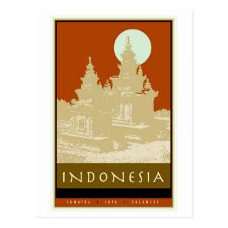 Cartão Postal Indonésia