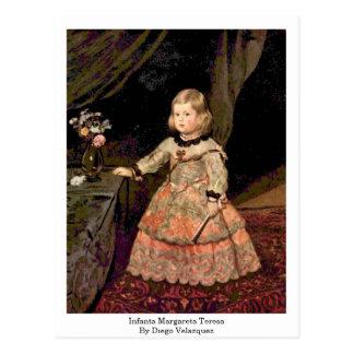 Cartão Postal Infanta Margareta Teresa por Diego Velázquez